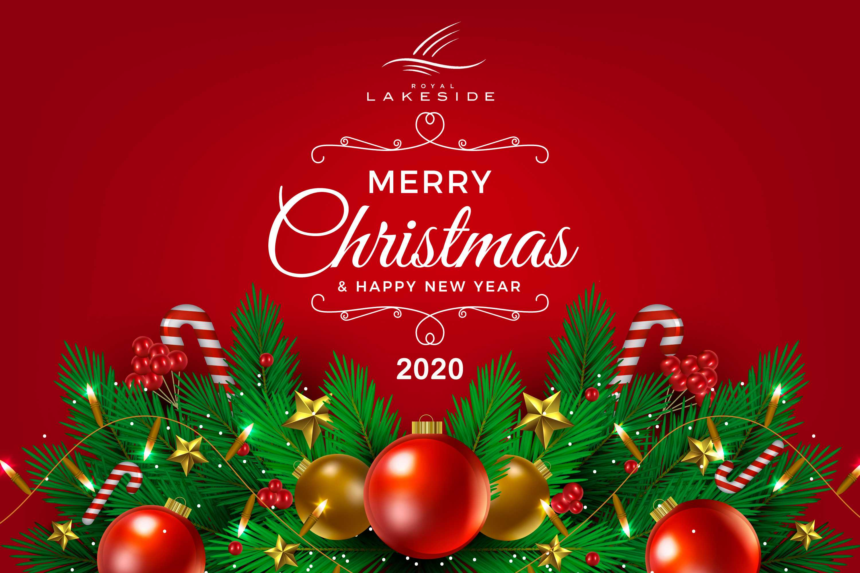 15+ Merry Christmas And Happy New Year 2020